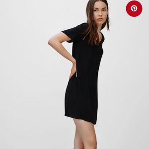 Aritzia Wilfred Free Teigen Black Dress
